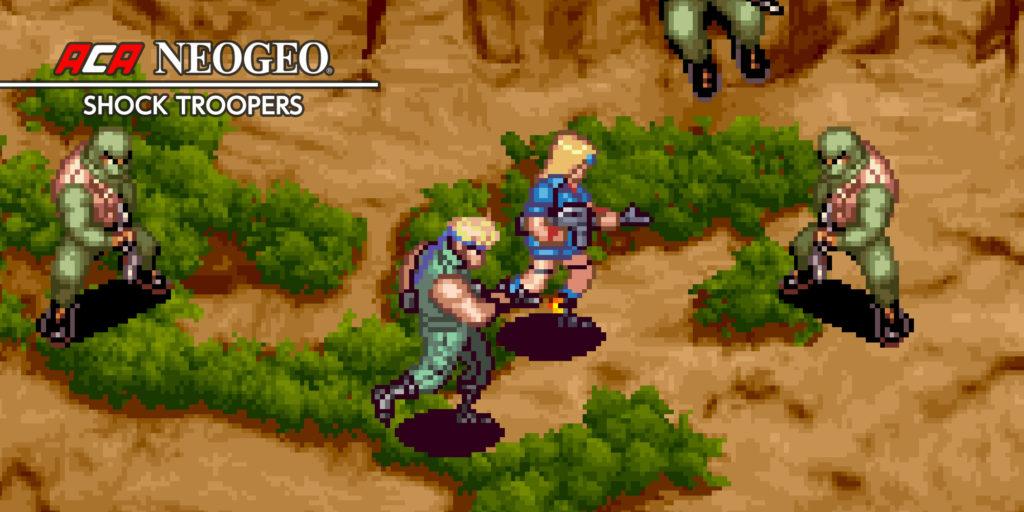 ACA NEOGEO Shock Troopers sur l'eShop Nintendo Switch