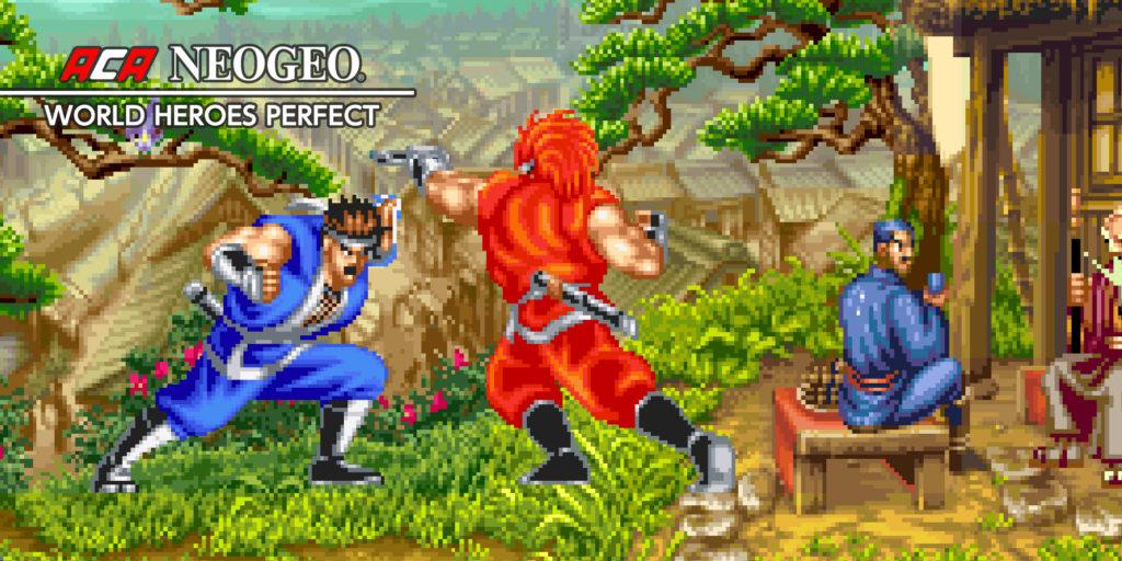 ACA NEOGEO World Heroes Perfect sur l'eShop Nintendo Switch