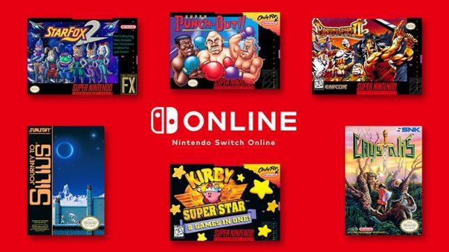 6 nouveaux jeux pour le Nintendo Online ce 12 décembre