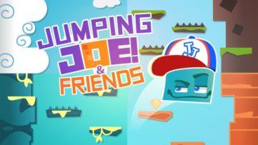 Jeu Jumping Joe & Friends sur Nintendo Switch : artwork