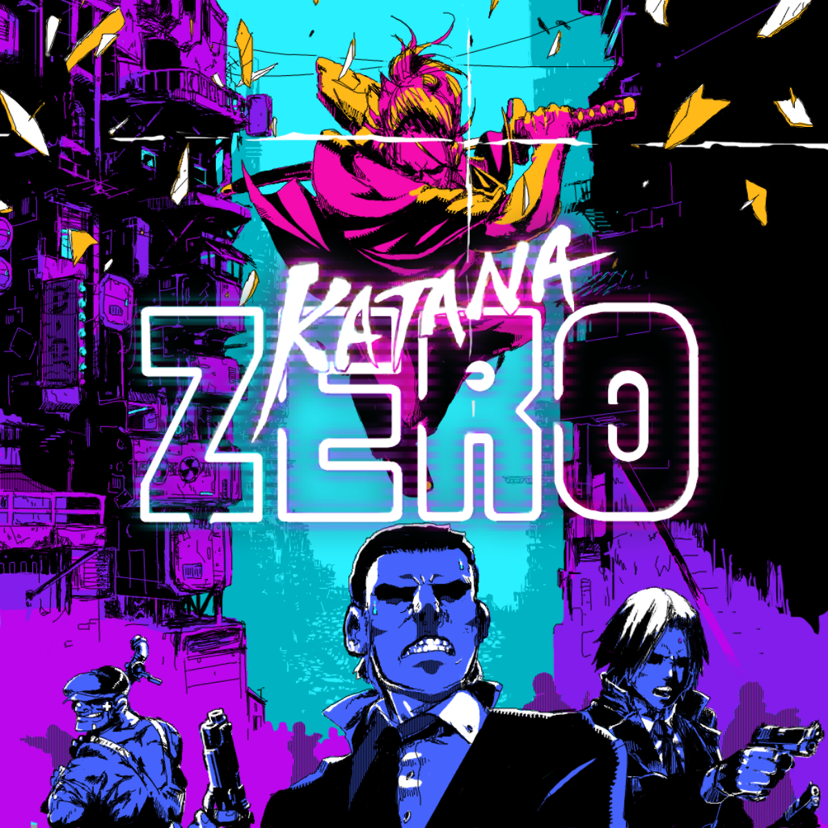 Jeu Katana Zero sur Nintendo Switch : artwork du jeu