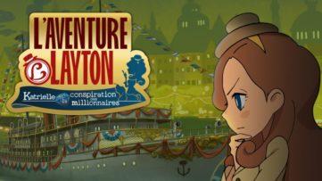 L'aventure Layton : Katrielle Layton et la Conspiration des Millionnaires : artwork du jeu