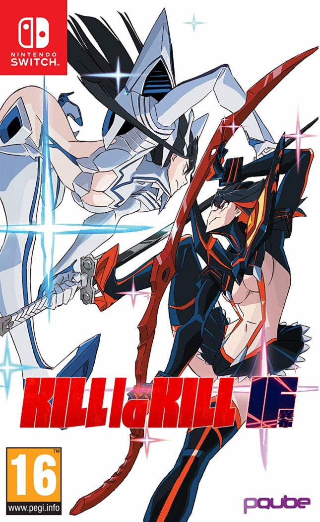 Kill La Kill If sur Nintendo Switch : boxart