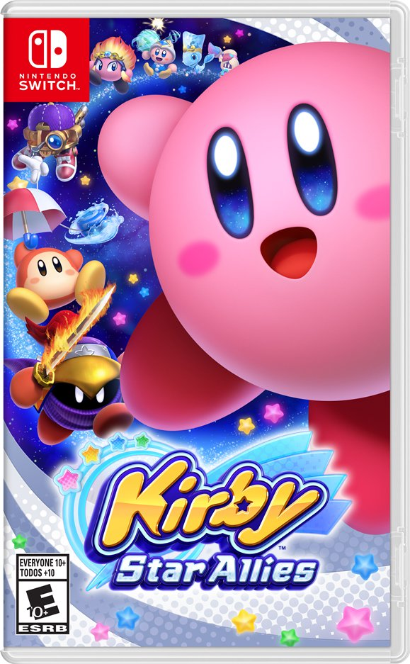 Kirby Star Allies : boxart américain