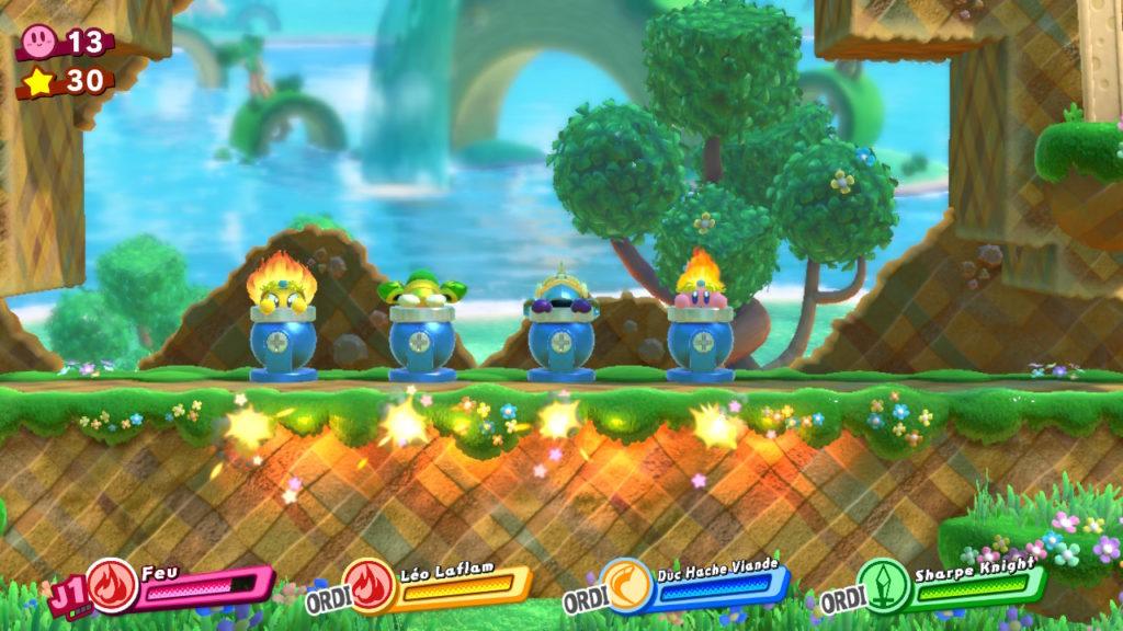 Jeu Kirby Star Allies sur Nintendo Switch : parés à décoller