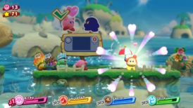 Jeu Kirby Star Allies sur Nintendo Switch : nouvel allié