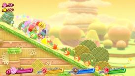 Jeu Kirby Star Allies sur Nintendo Switch : le cercle d'amis dévale la pente