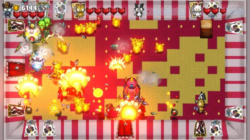 Jeu Kitten Squad sur Nintendo Switch : chaos à quatre joueurs