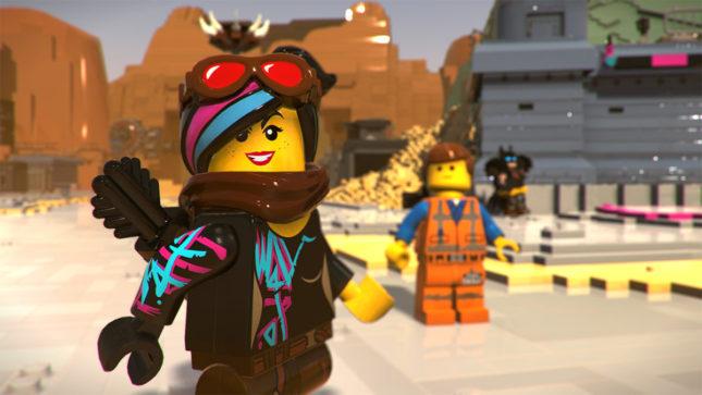 Jeu La Grande Aventure Lego 2 : le Jeu Video sur Nintendo Switch : Lucy et Emmet aux commandes