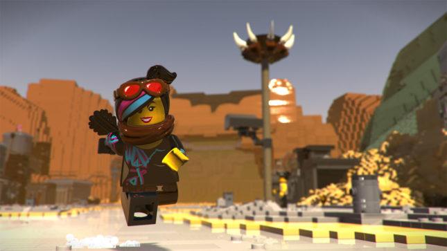 Jeu La Grande Aventure Lego 2 : le Jeu Video sur Nintendo Switch : Lucy vole au secours de tout le monde