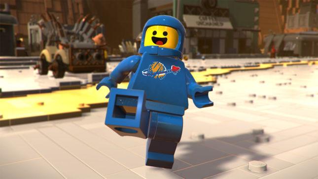 Jeu La Grande Aventure Lego 2 : le Jeu Video sur Nintendo Switch : les personnages vous donneront la banane