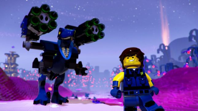 Jeu La Grande Aventure Lego 2 : le Jeu Video sur Nintendo Switch : Ray et ses Raptors
