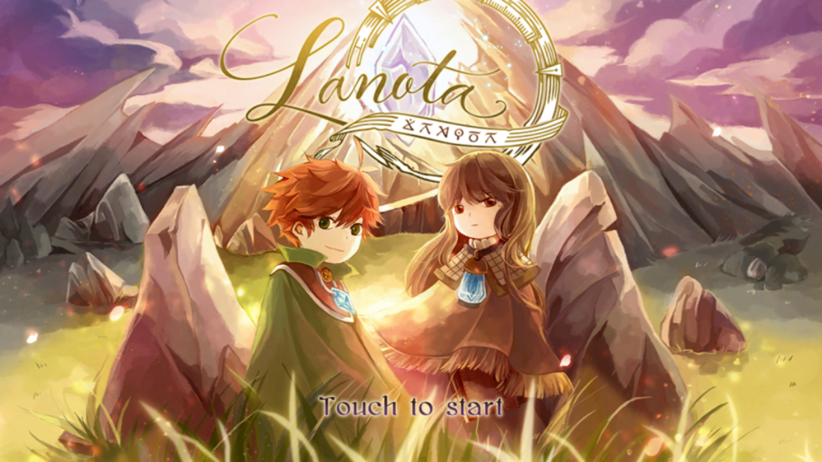 Jeu Lanota sur Nintendo Switch : artwork du jeu