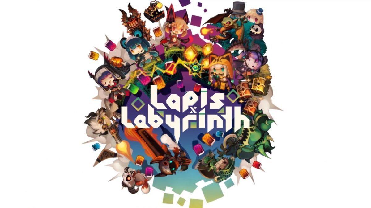 Jeu Lapis x Labyrinth sur Nintendo Switch : artwork du jeu