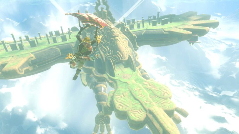 4 créatures divines dans The Legend of Zelda Breath of The Wild