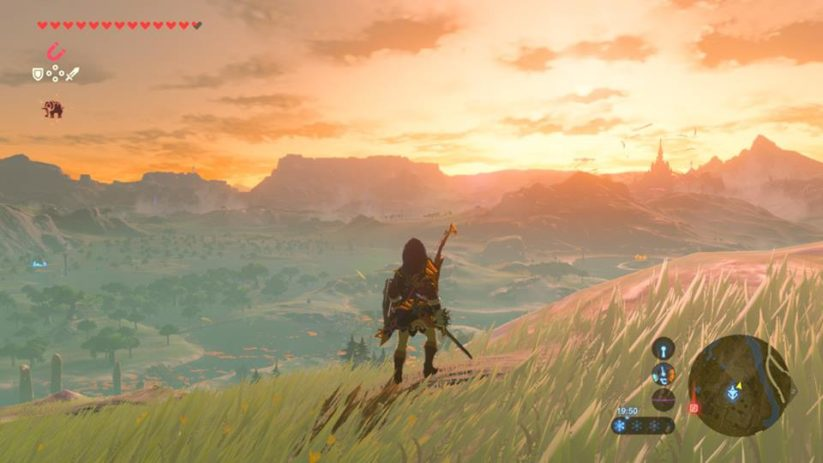 Panorama du jeu Switch The Legend of Zelda Breath of The Wild
