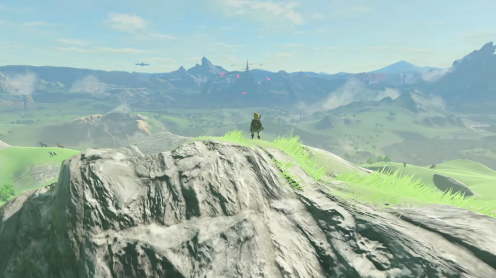 The Legend of Zelda : Breath of The Wild : le royaume d'Hyrule fait 360 km² !