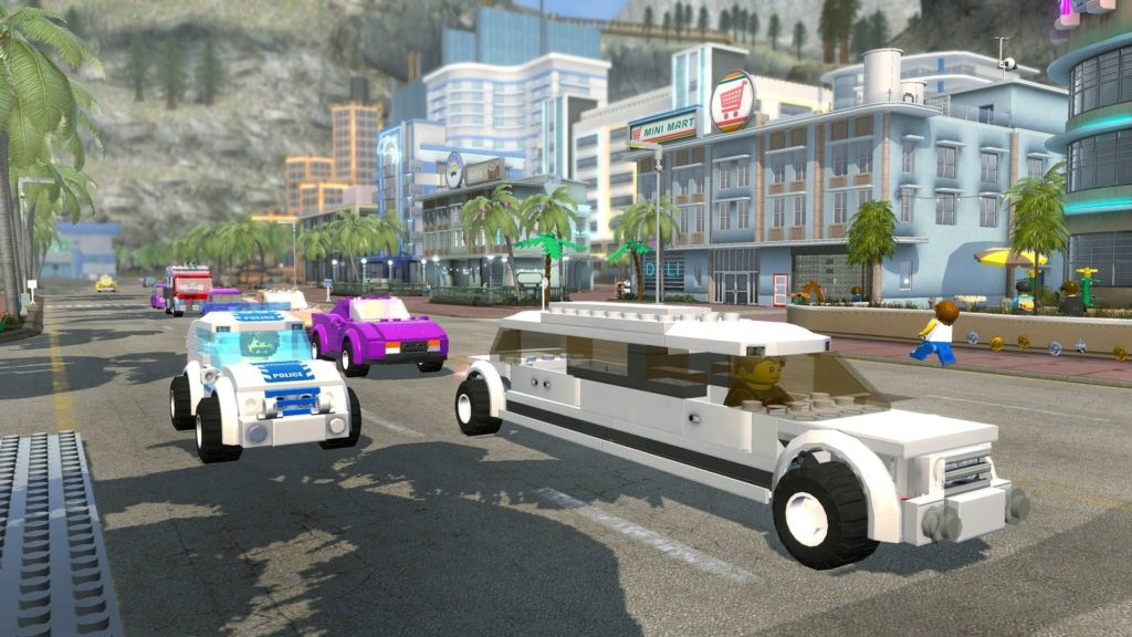 Screenshot du jeu Switch Lego City Undercover