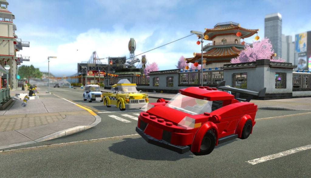 Screenshot du jeu Switch Lego City Undercover