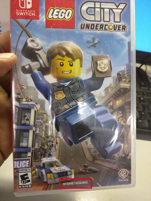 La version boite de LEGO City Undercover nécessitera le téléchargement de +13Go de données