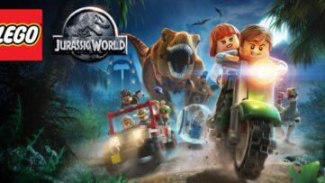 Jeu Lego Jurassic World sur Nintendo Switch : artwork du jeu