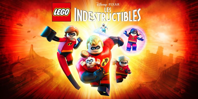 Jeu Lego Les Indestructibles sur Nintendo Switch : artwork du jeu
