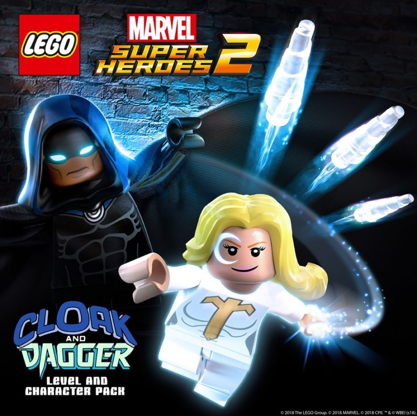 Jeu Lego Marvel Super Heroes 2 sur Nintendo Switch : DLC Cloak et Dagger