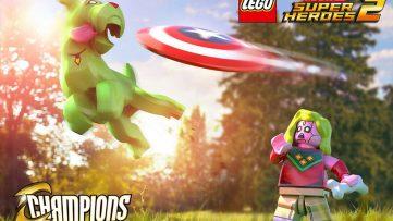 Les champions arrivent en DLC dans Lego Marvel Super Heroes 2