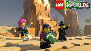 LEGO Worlds : 41 minutes de gameplay en vidéo