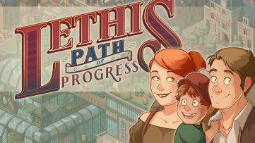Jeu Lethis - Path to Progress sur Nintendo Switch : artwork du jeu