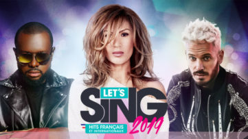 Jeu Let's Sing 2019 sur Nintendo Switch : artwork du jeu