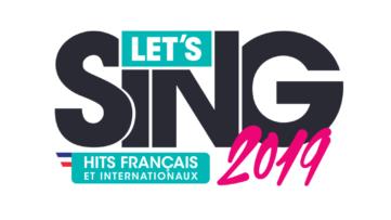 Jeu Let's Sing 2019 : Hits Français et Internationaux sur Nintendo Switch : logo du jeu