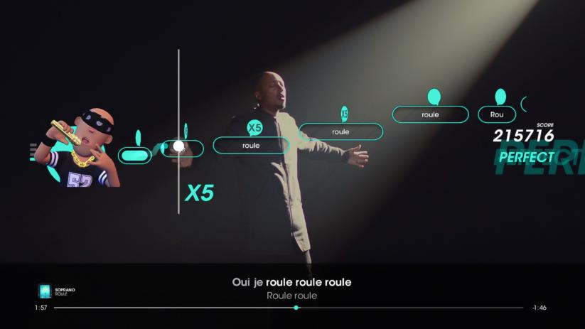 Jeu Let's Sing 2019 sur Nintendo Switch : Soprano Roule