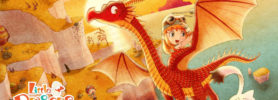 Jeu Little Dragons Café sur Nintendo Switch : artwork du jeu
