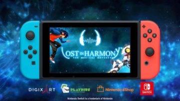 Lost in Harmony arrive le 21 juin sur Nintendo Switch