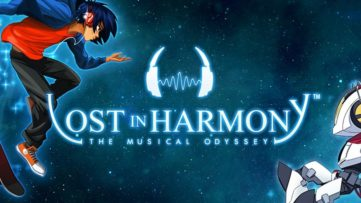Jeu Lost in Harmony sur Nintendo Switch : artwork du jeu