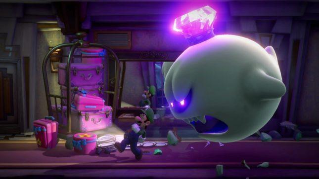 Jeu Luigi's Mansion 3 sur Nintendo Switch : le Roi Boo est de la partie