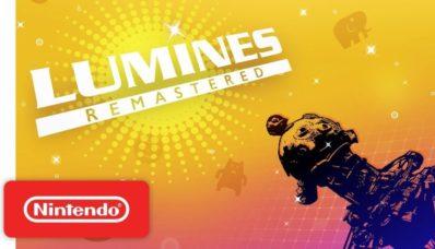 Jeu Lumines Remastered sur Nintendo Switch : artwork the présentation