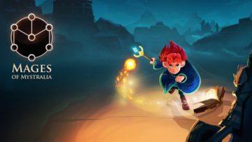 Jeu Les Mages de Mystralia sur Nintendo Switch : artwork du jeu