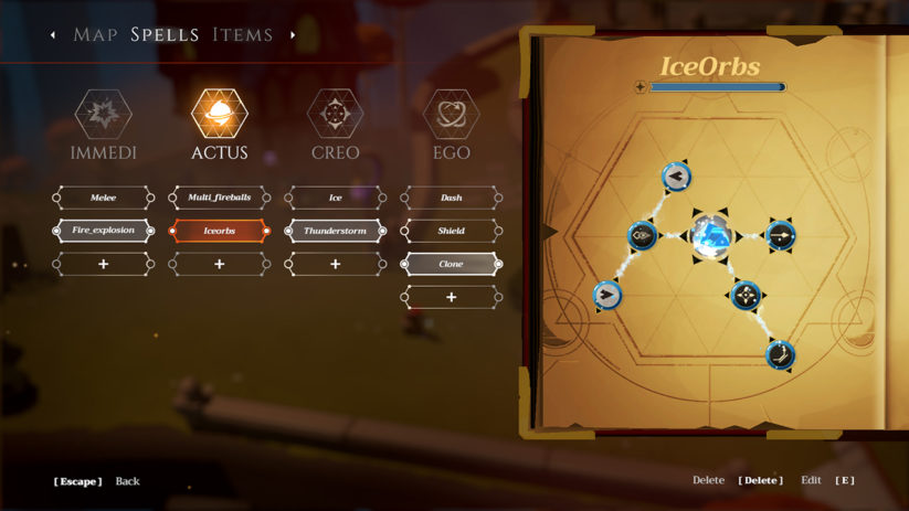 Jeu Les Mages de Mystralia sur Nintendo Switch : association de runes