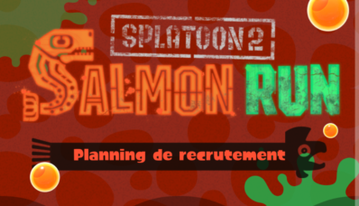 MAJ de l'app Splatnet : Salmon Run
