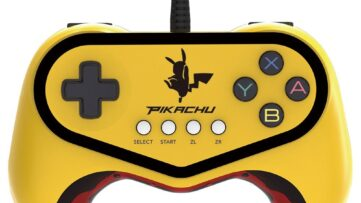 Manette Pokkén Tournament Pro Pad Pikachu de Hori compatible Pokkén Tournament DX
