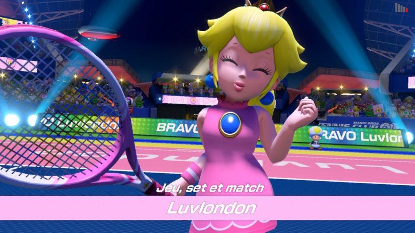 Mario Tennis Aces sur Nintendo Switch : soyez prêts à la victoire !