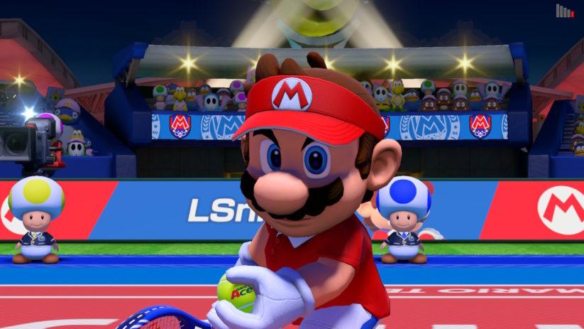 Chaque personnage Mario Tennis Aces a ses propres spécificités