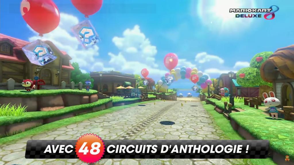 Mario Kart 8 Deluxe : 48 circuits