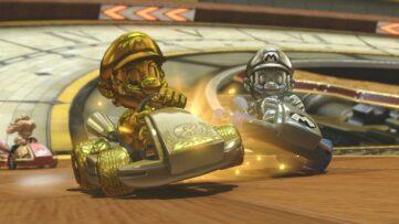 Mario Kart 8 Deluxe : débloquer Mario doré, le kart, les roues et l'aile en or