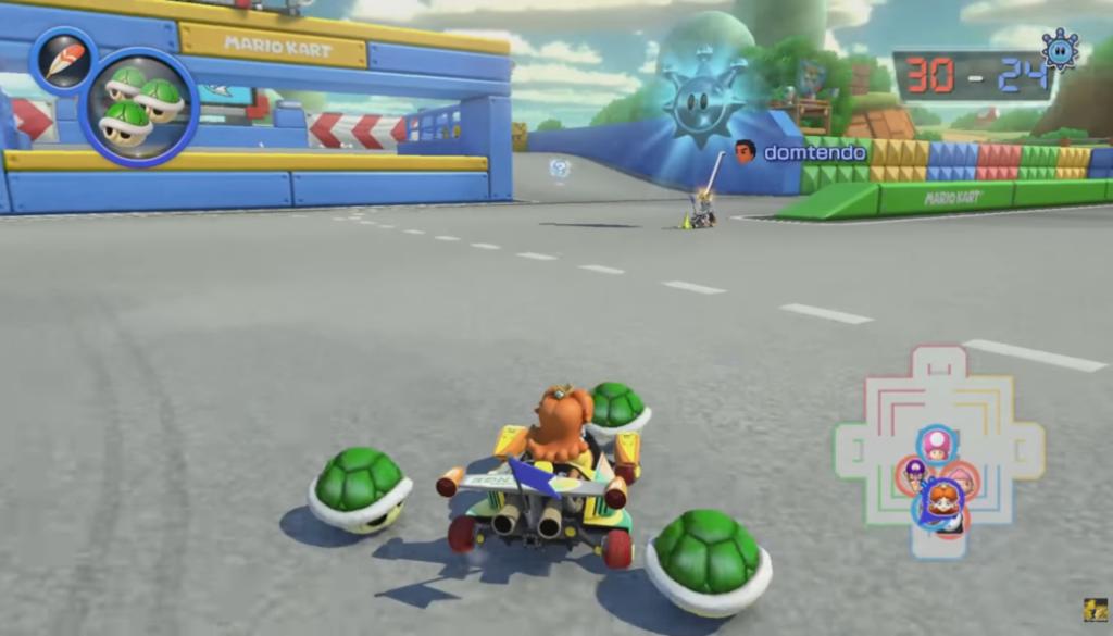 Mario Kart 8 Deluxe : 21 minutes du gameplay sur le mode Bataille online solo ou en équipe