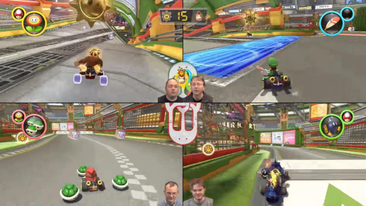 Mario Kart 8 Deluxe : 26 minutes du gameplay sur le mode multijoueur (2 et 4 joueurs en local)