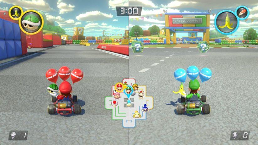 Mario Kart 8 Deluxe sur Nintendo Switch : 2 joueurs