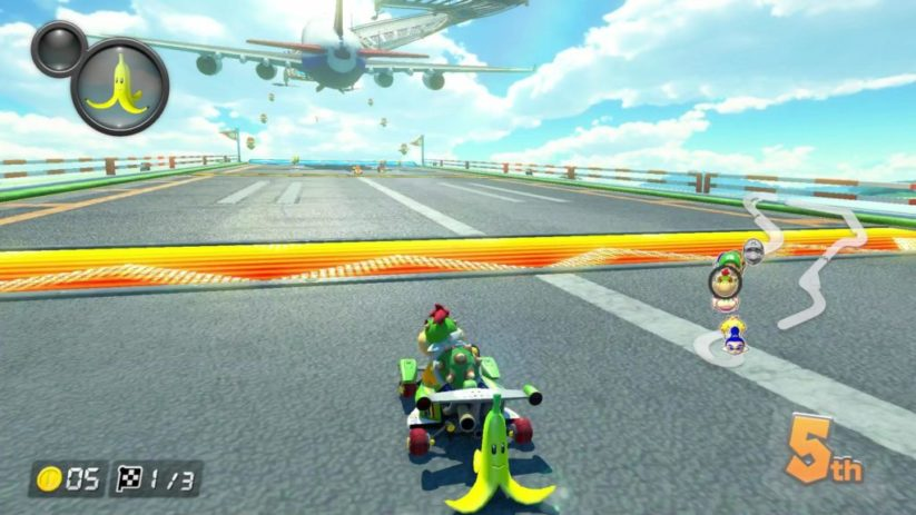 Mario Kart 8 Deluxe sur Nintendo Switch : mode Grand prix